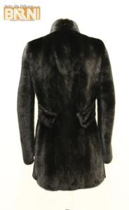 giacca visone black verticale